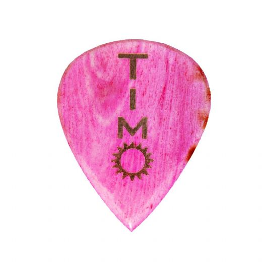 Timo Somers Pink Bone 1 Signature Guitar Pick
